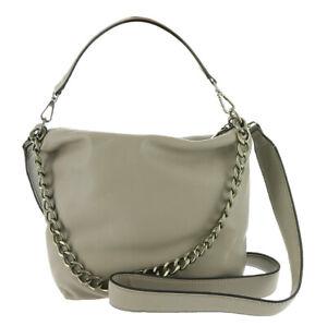 Steve Madden Banita Pebbled Chain Hobo Crossbody Bag