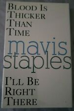 MAVIS STAPLES: BLOOD IS THICKER THAN TIME (1993 US CASSINGLE/ SEALED) PRINCE
