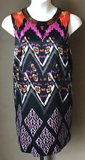 Colorful Tunic Beaded Detail Size 20