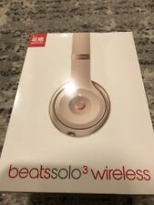 Beats By Dr.Dre Solo 3 Wireless Headphones Matte Gold (New & Sealed 100% )