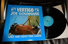 JOE GOLDMARK Vertigo Lo-Ball LP 1978 EX pedal steel guitar Norton Buffalo RARE