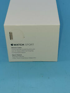 Apple Watch 38MM 7000 GOLD ALUMINUM  FAULTY SPARES  SL14