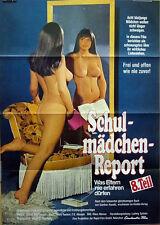 Sexploitation SCHULMÄDCHEN REPORT 8. TEIL original Kino Plakat A1