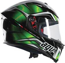 Gloss AGV Helmets with Integrated Sun Visor