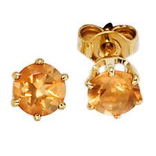 287859d68f99 Pendientes de joyería con gemas naranja oro amarillo