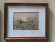 Farm at Medonte Peter Robson-Collection of Paul Tolmie Framed Print