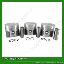Piston Set STD for Mitsubishi K3M  (100% Taiwan Made) x 3 PCS
