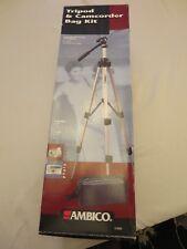 AMBICO Still & Video Camera Tripod BRAND NEW! Never opened! (no camcorder bag)