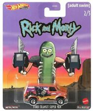 Hot Wheels Premium Pop Culture Rick & Morty Ford Transit Super Van
