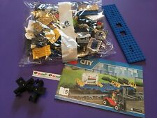 LEGO Cargo Wagon & Forklift - taken from 60052 Freight Train Set - Brand New