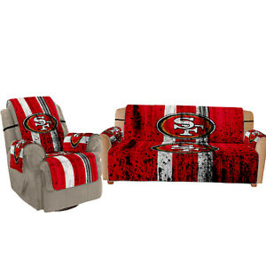 San Francisco 49ers Sofa Cover Furniture Slipcovers Protector Chair Couch Covers