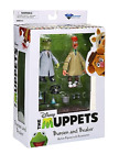 The Muppets Bunsen and Beaker Action Figure Set Diamond Select Toys Series 2