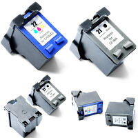 21 /22XL Inkjet Ink Cartridge Replacement For HP Printer F2100 F2180 F2210 F2280