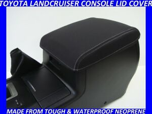 NEOPRENE CONSOLE LID COVER FITS TOYOTA LANDCRUISER 200 SERIES NOV 2007 - CURRENT