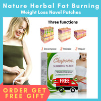 New Herbal Slim Patch Burning Fat Weight Loss Navel Stick Slimming Detox Cream