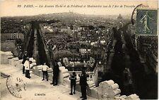 CPA PARIS 8e Les Avenues Hoche et de Friedland et Montmartre vues de l' (390085)