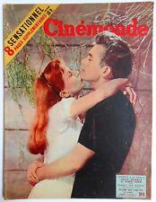 ►CINE MONDE 1085/1955-JAMES DEAN-GRACE KELLY-CHARLES TRENET-LUIS MARIANO-MOREAU