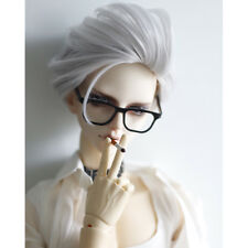 "1/4 BJD Glasses Vintage Handsome Black Frame Glasses For 1/4 17"" MSD BJD Doll"