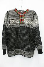 Norlender Vintage Wool Black & White Sweater Size M