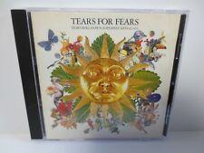 TEARS FOR FEARS ~ TEARS ROLL DOWN ~ GREATEST HITS 1982 - 1992 ~ VERY GOOD CD