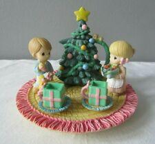 Vintage 1998 Enesco Precious Moments Christmas Mini Tea Set