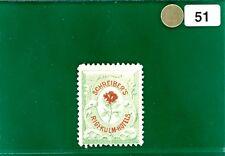 GWHITE51 Switzerland Local Stamp SCHREIBERS Hotel Post