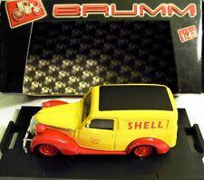 """BRUMM R328: Fiat 1100E Furgone, Shell """"Scuderia Ferrari"""", G.P. Monza, NEU & OVP"""