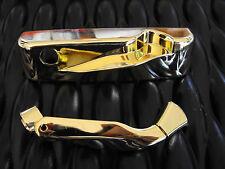 Truth Casement operator Cover and Handle Encore Tango Rh Bright Brass 12616.13