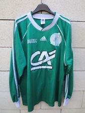 VINTAGE Maillot porté CASTELNAU LE CRES Adidas National n°7 worn shirt Coupe XL
