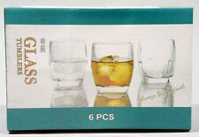 6pc Glass Tumblers, 10oz.295ml