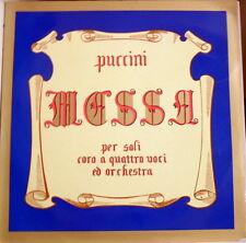 Puccini: Messa Per Soli coro a Quattro Voci e Orchestra / sinimberghi, Ciavola