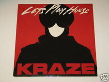 """KRAZE let's play house 12"""" RECORD HOUSE 1989"""