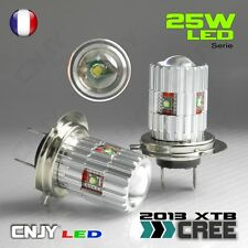 2 AMPOULE LED H7 CREE XTB 25W 6000K BLANC 12V ANTI BROUILLARD FOGLIGHT FEUX DEL