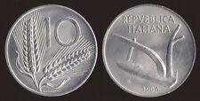 10 LIRE 1956 SPIGHE ITALIA - Q.FDC QUASI FIOR DI CONIO