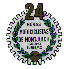 Bultaco - 24 Horas de Montjuich Decal