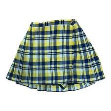 New listing Girls Vintage Mod Plaid Skirt Girltown 1970s Kids Retro Winter Clothes Size 14
