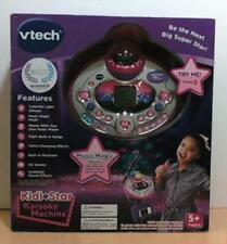 NEW OPEN BOX VTech Kidi Star Karaoke Machine, Purple, English Version $60