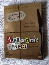 ALAXANDRA'S PROJECT - SPECIAL EDITION (DVD+SLIP COVER) R-4, LIKE NEW, FREE POST