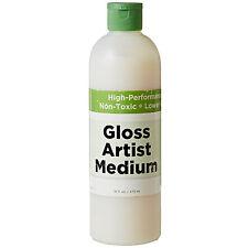 Eco-Green Crafts GLOSS ARTISTS MEDIUM FINISH SEALER 16 oz/473 mL NEW
