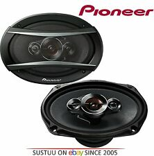 "PIONEER TS A6933is 6x9"" 3 Way Carbon Graphite Speakers"