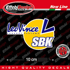 Adesivo/Sticker LeoVince ALTE TEMPERATURE 200 GRADI scarichi marmitte Honda Ktm