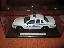 Custom Police 1/27 Welly St. Matthews,SC Police Ford Crown Vic Old Markings