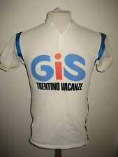 Gis Trentino Italy jersey shirt cycling maglia ciclismo vintage 80's size M