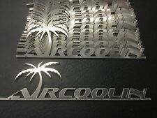 "VW AirCooled ""AirCoolin"" Script Emblem   Prt# VRD242"