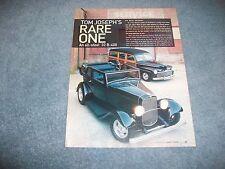 "1932 Ford B-400 Street Rod Article ""Rare One"" Convertible Sedan"