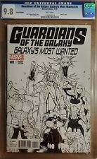 Guardians of the Galaxy Galaxy's Most Wanted #1 1B Pichelli 1:25 CGC 9.8 2014