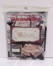 Yours Truly Welcome Pillow Are You Staying For Dinner Cross Stitch Kit #2403