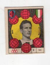 figurina CALCIO VAV 1959/60 NUMERO 101 BARI BACCARI