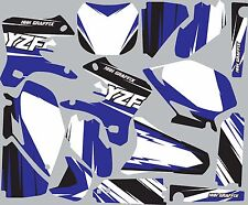 Graphic Kit for 2003-2005 YZ450f YZ 450f YZF 450 shrouds fender plastic decals