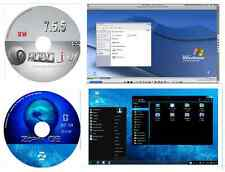 Zorin 9 Core LTS & RoboLinux 7.8.3 Linux Operating Systems 32 bit 2 DVDs